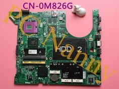 79.00$  Buy here - http://alie58.worldwells.pw/go.php?t=32608850903 - Laptop Motherboard For Dell Studio 1737 pm45 Intel Motherboard CN-0M826G M826G 0M826G DA0GM5MB8E0 79.00$