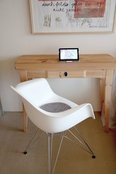 Vitra Eames Stuhl weiss - Blog - August 2012 - P A S T E L P I X