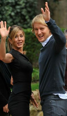 Jennifer Aniston & Owen Wilson At 'Marley & Me' Photocall
