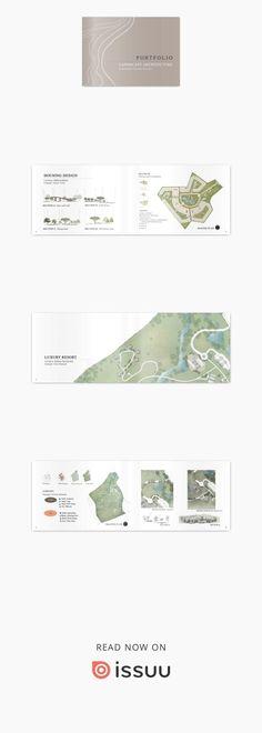Ideas For Design Portfolio Layout Architecture Graphics Landscape Architecture Degree, Villa Architecture, Landscape Design Software, Landscape Structure, Architecture Graphics, Drawing Architecture, Landscape Architects, Architecture Journal, Business Architecture