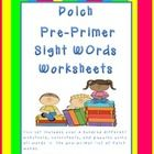 You are getting over a 100 sheets of sight word worksheets. You will get sheets to trace, color, cut and paste in the correct word order. You are g...