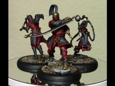 Painting the colour Red better on Miniatures