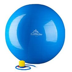 Black Mountain Products 2000-Pound Anti Burst Exercise Stability Ball with Pump, Blue, 85cm -   - http://sportschasing.com/sports-outdoors/black-mountain-products-2000pound-anti-burst-exercise-stability-ball-with-pump-blue-85cm-com/