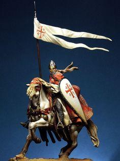 Sepulchre Knight on Horseback