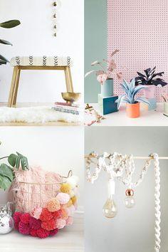 5 diy sencillos para decorar tu casa Furniture, Home Decor, Environment, House Decorations, Little Cottages, Personality, Decoration Home, Room Decor, Home Furnishings