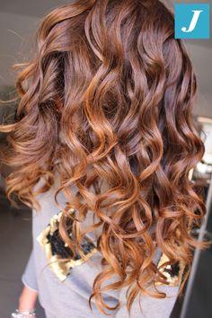 Ready for spring _ Degradé Joelle Hair Color Auburn, Auburn Hair, Hair Color For Black Hair, Love Hair, Great Hair, Gorgeous Hair, Brown Blonde Hair, Brunette Hair, Hair Affair