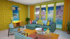 Roomstyler.com - sea view room