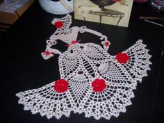 Victorian Doll Doily PRETTY CROCHET **+