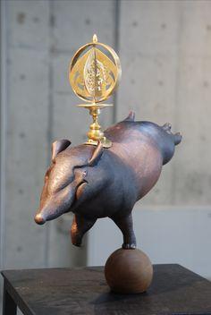 #art #metalwork #art #Sculptures #Sculptures #金工 #金属 #工芸 #鍛金