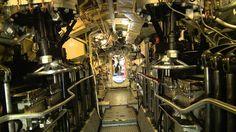 inside submarine | Royal Navy Submarine Musuem - YouTube