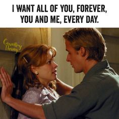 I want all of you, forever, you and me, every day. #countrycouple #relationshipquotes #lifefactquotes #countrythang #countrythangquotes #countryquotes #countrysayings