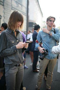 They Are Wearing: Milan Fashion Week - WWD.com