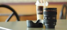 LENS COFFEE MUG. Not into photography, but I want to give this to Corine (as a graduation gift) next year. We love coffee! And she loves photography.