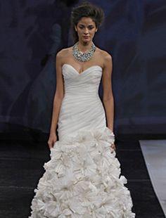 Such a fun wedding dress