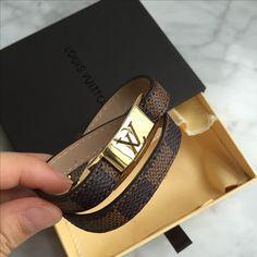 Louis Vuitton Lv bracelet Damier ebene