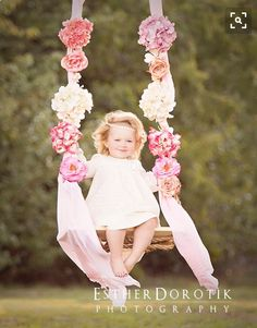 Want a swing like this for a photo shoot!