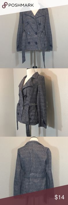 Bongo jacket size M Bongo jacket size Medium. Buttons and belt to cinch the  waist. Super cute and a soft material. 85% polyester 15% cotton BONGO  Jackets   ... 98d2f9904