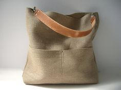 Jute Bucket Bag, Jute Beach Bag, Resort Tote, Summer Tote Bag, Bucket Bag, Hobo Tote, Casual Summer Bag, Simple Tote Bag