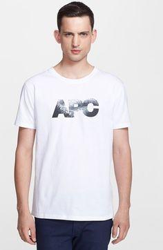Men's A.P.C. Graphic Crewneck T-Shirt