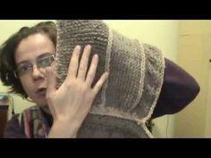 scalda collo con cappuccio prima parte - YouTube