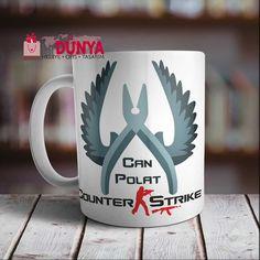 Counter Strike baskılı porselen kupa modelimiz tam aradığınız hediye. Üstelik bu hediyenizi kapıda ödeme imkanı ile hemen sipariş verebilirsiniz.