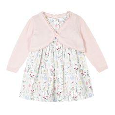 Dress & Cardigan (6-9 Months)   Bluezoo   £16
