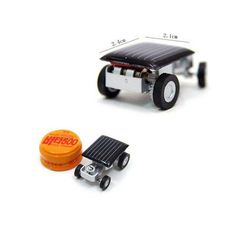 Smallest Mini Car Solar Powered Toy Car New Mini Children Solar Toy Gift Baby Kid Solar Car Toy FCI#
