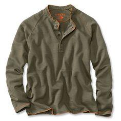 Just found this Mens Pullover Sweatshirt - Henley Sweatshirt -- Orvis on Orvis.com!