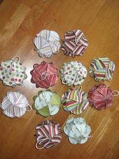 Craft Affection: My Newest Christmas Ornaments!