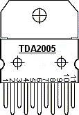 Amplificador estéreofonico 2 x 15 W