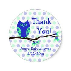 Custom Baby Shower Labels. 5100/ST. As low as $0.19 each. #babyshower #labels #partyfavors
