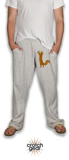 Need the perfect birthday gift? Our Pesky Squirrel sweatpants are a favorite of all the guys in your life, young and old, this little guy makes everybody laugh! Click here to pick up a pair for him now.