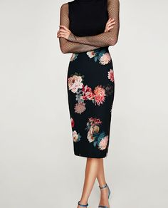 Bergdorf Goodman - World-renowned fashion, plus exclusive beauty brands Maxi Pencil Skirt, Printed Pencil Skirt, Skirts For Sale, Zara Dresses, Floral Maxi, Mode Inspiration, Black Blouse, Floral Prints, Women Wear