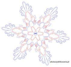 Snowflake, Crochet Snowflake, Crochet Snowflake, Crochet School, … - Home Page Crochet Snowflake Pattern, Crochet Stars, Crochet Snowflakes, Thread Crochet, Crochet Stitches, Crochet Diagram, Filet Crochet, Crochet Motif, Crochet Doilies