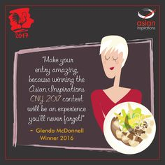 A note from the last year's winner, Glenda McDonnell is here! Now you know just what to do! ;)  Submit your amazing recipes here: http://bit.ly/2017CookSnapWin