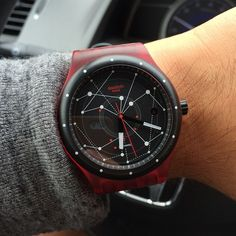 #Swatch SISTEM RED http://swat.ch/SistemRed