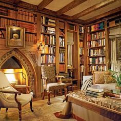 Libraries : Architectural Digest