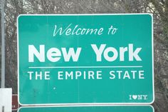 New York State Sign (Taken March 2012)