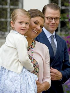 King Carl Gustaf and Queen Silvia, Crown Princess Victoria of Sweden and Prince Daniel and Princess Estelle of Sweden attend the 38th Birthday celebrations of Crown Princess Victoria of Sweden at Solliden Palace on July 14, 2015 in Oland, Sweden.