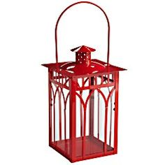 Small cathedral lantern...like the red, of course!