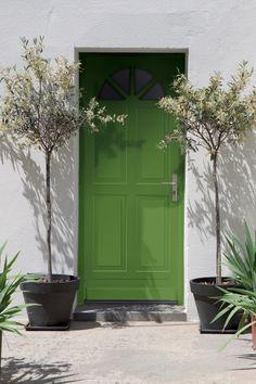 Greenery, la couleur de l'année 2017 par Pantone, à peindre chez vous en intérieur comme en extérieur #coy2017