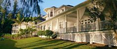 Palm Cliffs House Inn Hawaii -- Romantic Victorian Architecture is a dramatic back drop for your special event.