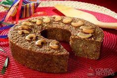 Receita de Bolo pé de moleque diferente em receitas de bolos, veja essa e outras receitas aqui!