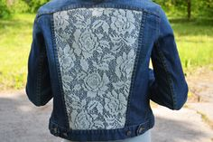 Hey, I found this really awesome Etsy listing at https://www.etsy.com/listing/188039186/lace-denim-jacket-coachella-festival