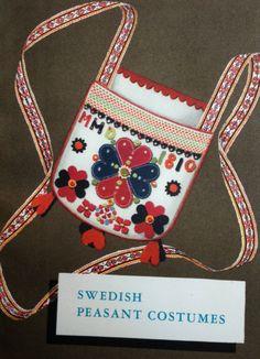 Anna Maja Nylen, Swedish Peasant Costumes, illst. Ingemar Tunander; trans. William Cameron (Nordiska Museet, 1949)
