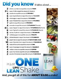Limu Lean Shake... For more information or To order  www.steveandfrankie.iamlimu.com