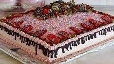 Meyveli Yaş Pasta Tarifi Sauerkraut, Kefir, Holiday Decor, Desserts, Christmas, Food, Cases, Masks, Tailgate Desserts