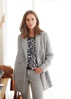 Sézane - Octave Coat Basic Outfits, Casual Outfits, Style Parisienne, Corporate Outfits, Parisian Style, Winter Collection, Passion For Fashion, Coat, Workwear Clothing
