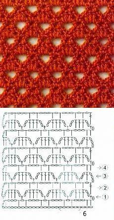 Openwork Crochet Stitch - Knitting Bee
