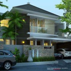 Model Rumah Mewah 2 Lantai_14 X15 M2